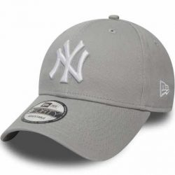 New Era -  New York Yankees Basic Gray White  940 Leag Sapka