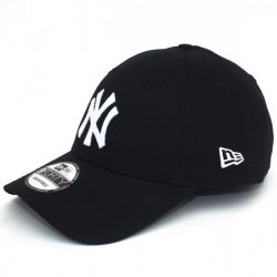 New Era -  New York Yankees Basic Black White  940 Leag Sapka