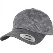 Flexfit - Low Profile Digital Camo Black Cap Sapka