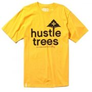 LRG - RC Hustle Trees Tee Gold Póló