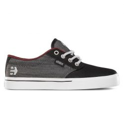 Etnies - Jameson 2 Eco Black Denim Gyerek Cipő