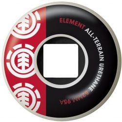 Element - Section Blk/Red (52 mm) gördeszka kerék