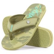 Animal - Swish Eva Burnt Olive Flip Flop Papucs