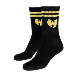 Wu Wear - Logo Socks Blk/Yellow Zokni