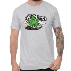 Volcom - Flying High Basic SS Tee Heather Grey Póló