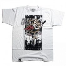C S M Limited - Great Life White Tee Póló