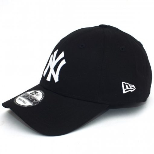New Era - MLB New York Yankees League Essential Black White 940 Sapka