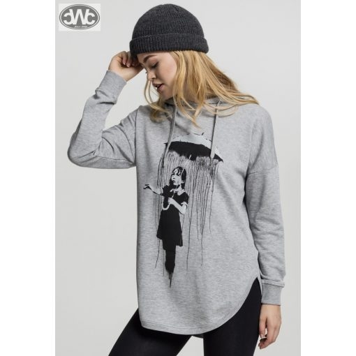 Ladies Banksy Umbrella Oversized Hoody