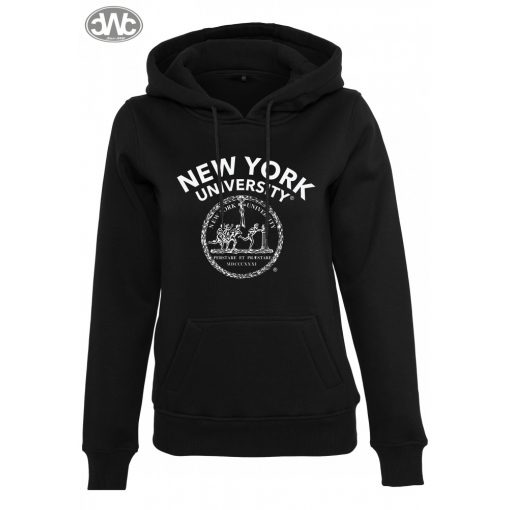 Ladies NYU Logo Hoody