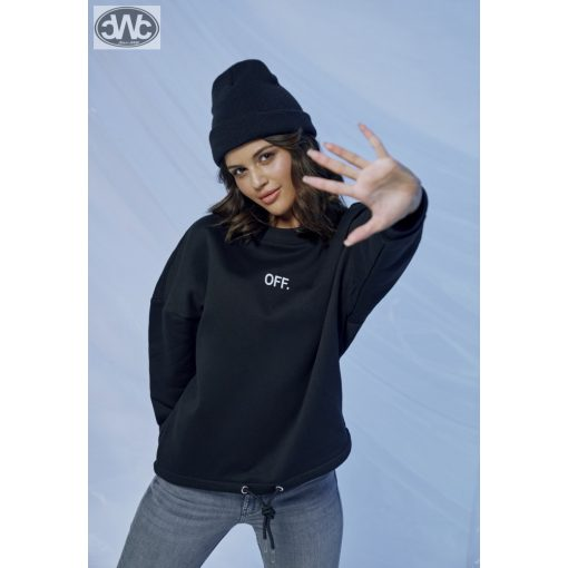 Ladies OFF Oversize Crewneck