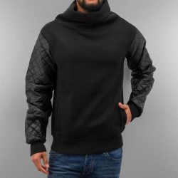 Just Rhyse - Mock Neck Black Pulóver