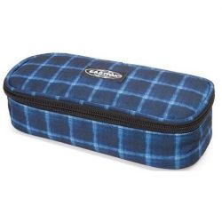 Eastpak - Oval Charged Check Blue Tolltartó