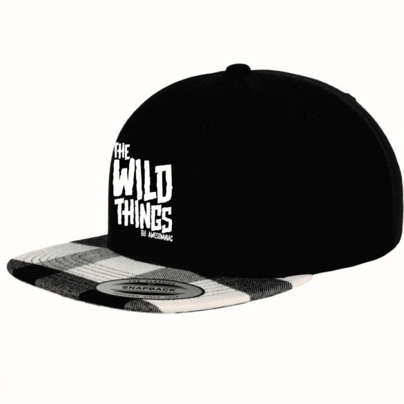 WCC-Sapka-The-Wild-Things-Flanel-Snapback