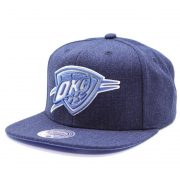 Mitchell & Ness - Oklahoma City Thunder Team Heather Denim Snapback Sapka